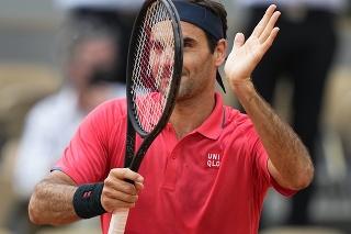 Švajčiarsky tenista Roger Federer (39) na grandslamovom French Open