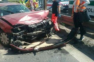 Nehoda v Martine si vyžiadala troch zranených.