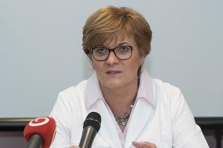 Eva Goncalvesová, prednostka Kardiologickej kliniky Lekárskej fakulty Univerzity Komenského a Národného ústavu srdcových a cievnych chorôb (NÚSCH) v Bratislave