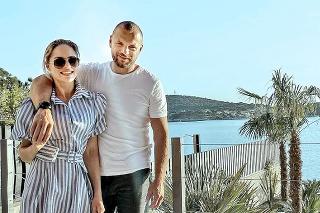 Manželia si užívali oddych v Chorvátsku.