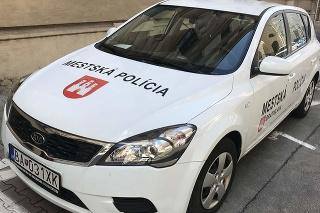 Auto mestskej polície v Bratislave