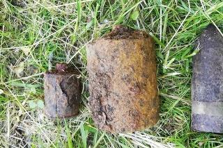 Krajský pyrotechnik určil, že ide o muníciu z obdobia 2. svetovej vojny, konkrétne o 37 mm delostrelecký granát, ručný granát vzor 42 a protipechotnú mínu šrapnelovú vzor 35.