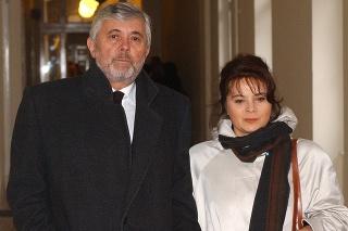Česká herečka Libuše Šafránková a český herec Josef Abrhám