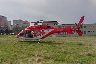 Záchranársky vrtuľník zo Žiliny zasahoval vsobotu dopoludnia vobci Sihelné vokrese Námestovo (ilustračné foto).