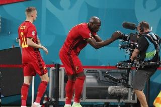 Zápas na ME medzi Belgickom a Ruskom.