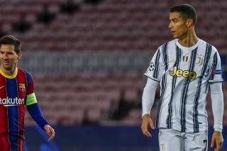 Lionel Messi a Cristiano Ronaldo.