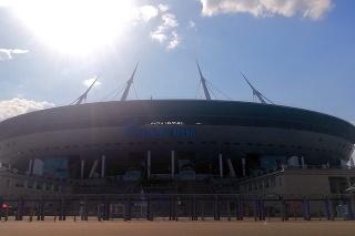 Štadión v Petrohrade, na ktorom Slováci odohrajú zápas proti Poľsku.