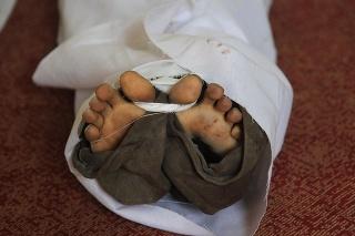 Telo jedného z podporovateľov Muhammada Mursího.