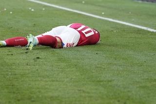 Dán Christian Eriksen (29) po kolapse v súboji proti Fínsku na EURO 2020