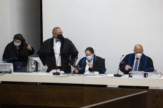 Verejné zasadnutie na Najvyššom súde (NS) SR v kauze vraždy Jána Kuciaka a jeho snúbenice Martiny Kušnírovej.