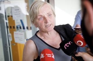 Rodičia Jána Kuciaka a matka Martiny Kušnírovej neskrývali radosť z rozhodnutia Najvyššieho súdu SR.