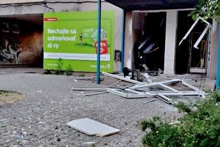 V nočných hodinách došlo k poškodeniu bankomatu v obci Turňa nad Bodvou v okrese Košice.