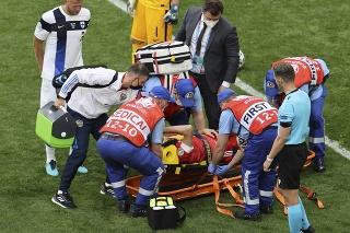 Zranený ruský futbalista Mario Fernandes skončil v nemocnici