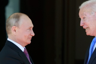 Stretnutie Bidena a Putina v Ženeve.