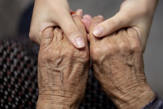 Old, Old, Helping Hand, Young Adult, Support