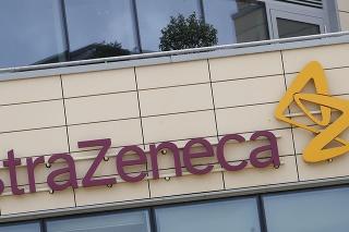 Nápis britsko-švédskej farmaceutickej spoločnosti AstraZeneca v Cambridgei.