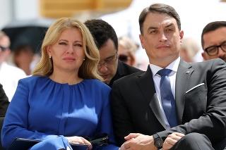 Prezidentka sa zúčastnila otvorenia s partnerom.