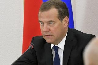 Bývalý ruský prezident a premiér Dmitrij Medvedev.