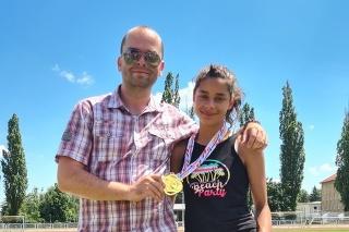Šikovná tínedžerka sa stala v nedeľu dorasteneckou majsterkou Slovenska v behu na 1 500 metrov.