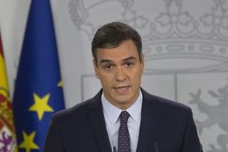 Šéf španielskej úradníckej vlády Pedro Sánchez