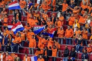 Fanúšikovia Holandska.