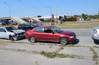 Dopravná nehoda v Košiciach: Jeden mal zákaz šoférovať, druhý vodičák ani nemal.