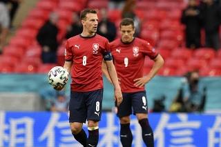 Duel Česko - Anglicko na ME vo futbale.