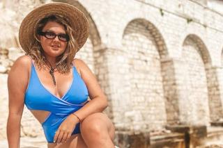 Evelyn na dovolenke v Chorvátsku.