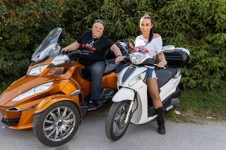 Kristína s otcom milujú motorky.