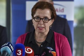 Na snímke štátna tajomníčka ministerstva zahraničných vecí a európskych záležitostí SR Ingrid Brocková.
