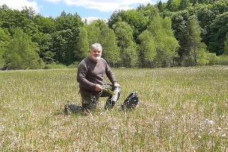 Známy slovenský entomológ Rudolf Gabzdil