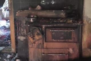Požiar domu