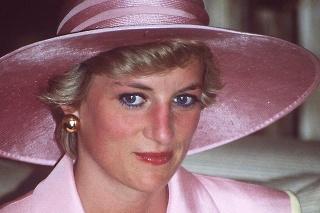 Princezná Diana vo februári 1992.