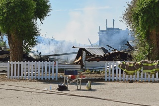Požiar kostola v kanadskom meste Penticton 21. júna 2021
