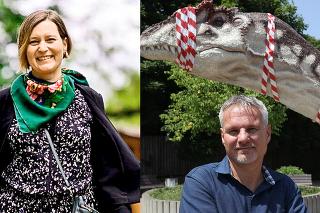 Ozoo ajej bývalej riaditeľke sa písalo najmä vsúvislosti svypovedaním zmluvy sčeskou spoločnosťou West Media, ktorá vareáli záhrady prevádzkovala Dinopark.