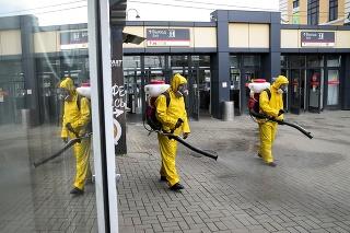Moskva je jednou z najviac zasiahnutých oblastí pandémiou.
