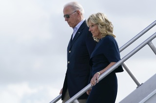 Americký prezident Joe Biden a prvá dáma Jill Bidenová.