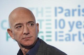 Americký podnikateľ Jeff Bezos