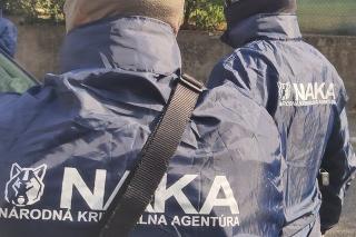 NAKA zasahuje v Bratislave.