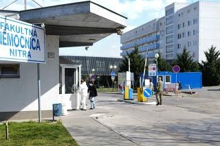 Fakultná nemocnica Nitra má situáciu pod kontrolou.