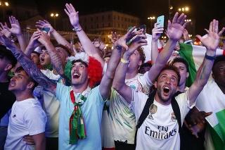 Šialenstvo v uliciach Ríma: Takto Taliani oslavovali postup cez Belgicko!