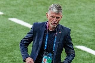 Tréner českej reprezentácie Jaroslav Šilhavý.