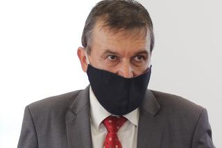 Predseda Špecializovaného trestného súdu v Pezinku Ján Hrubala po vynesení rozsudku