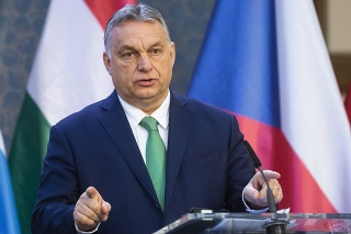 Predseda vlády Maďarska Viktor Orbán.