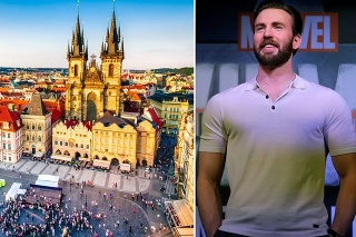 V Česku nakrúca Chris Evans.