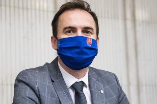 Predseda poslaneckého klubu OĽANO Michal Šipoš
