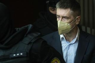 Ľubomír Kudlička na súde v apríli 2021.