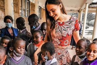 Monika pomohla najchudobnejším deťom na svete v africkom slume.