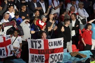 Anglickí fanúšikovia na EURO 2020