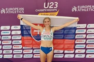 Olympionička Emma Zapletalová získala v Talline zlato.